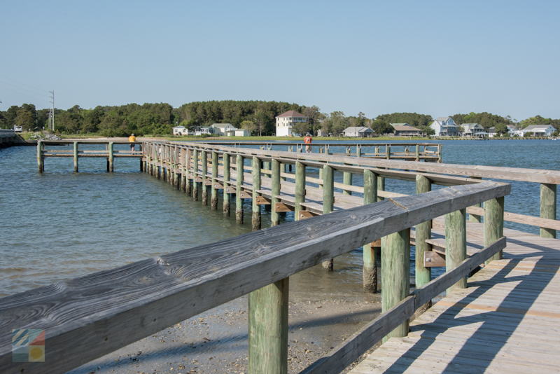 The pier on Harkers Island