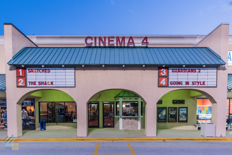 A movie theater in Atlantic Beach NC