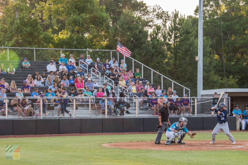 Big Rock Stadium - Morehead City Marlins Game