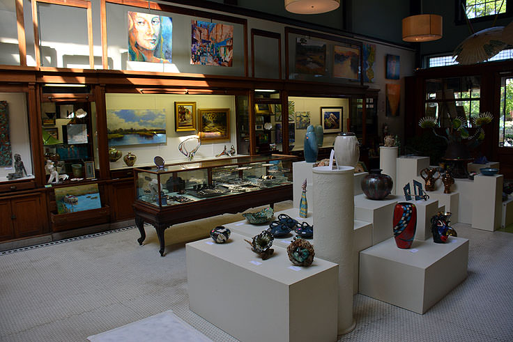 Art Gallery at Baxters Gallery in New Bern, NC