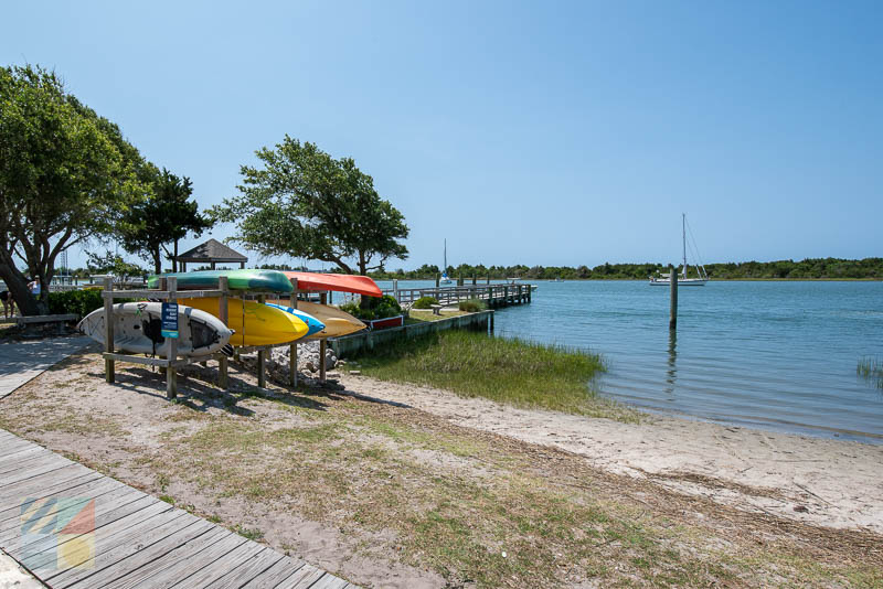 There are no shortage of kayaking opportunities in Beaufort